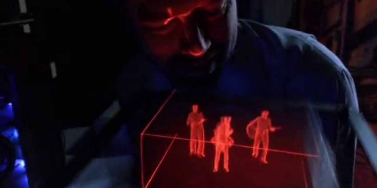 Voxie Box, una caja que muestra hologramas en 3D