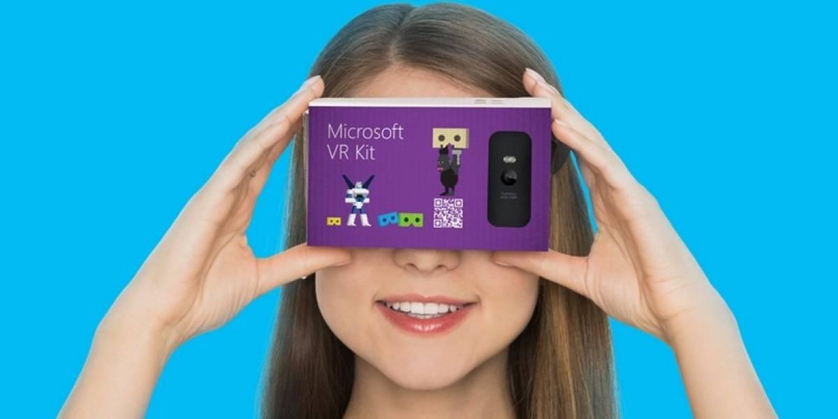 Conoce el Microsoft VR Kit, la competencia de Google Cardboard