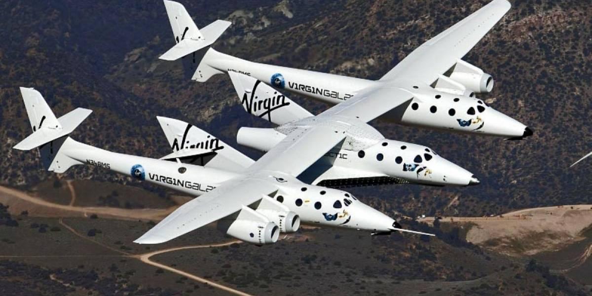 La NASA contrata tres vuelos charter a Virgin Galactic