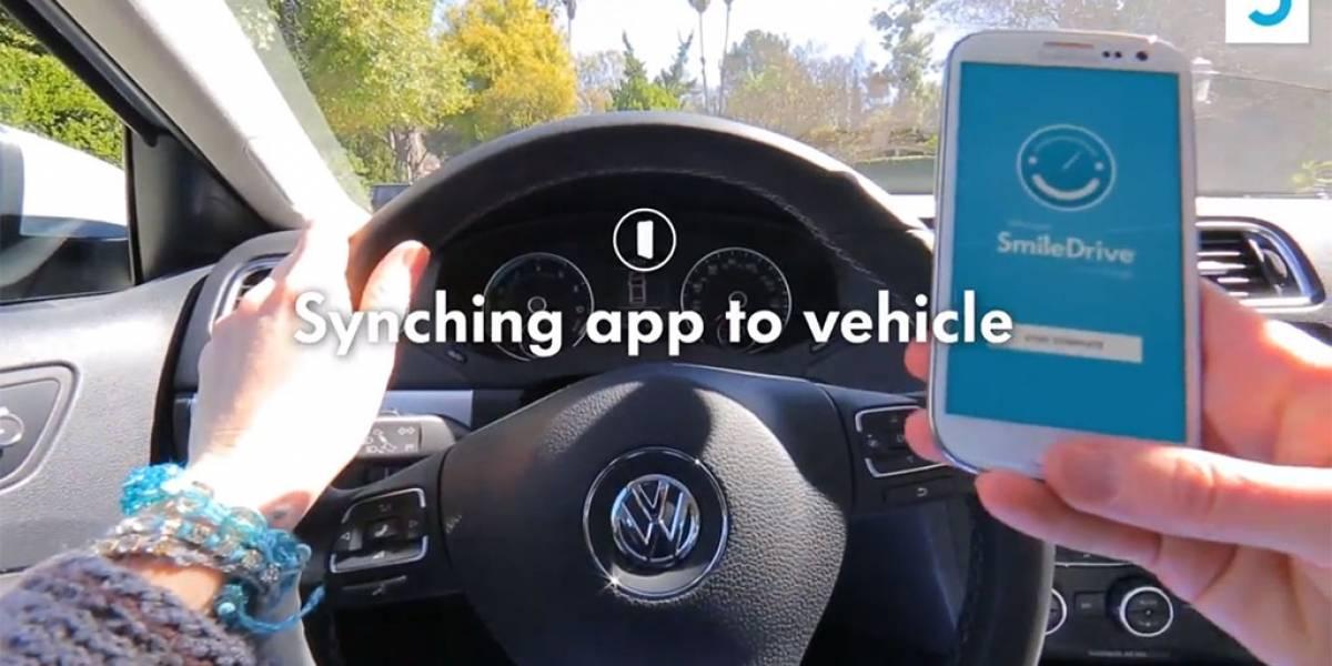 Volkswagen lanza SmileDrive, una aplicación que integra el componente social a tus recorridos en auto