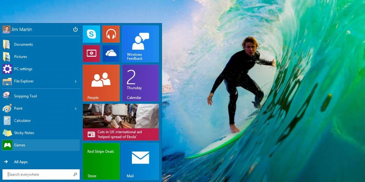 Se filtra nueva versión de Windows 10 build 9888
