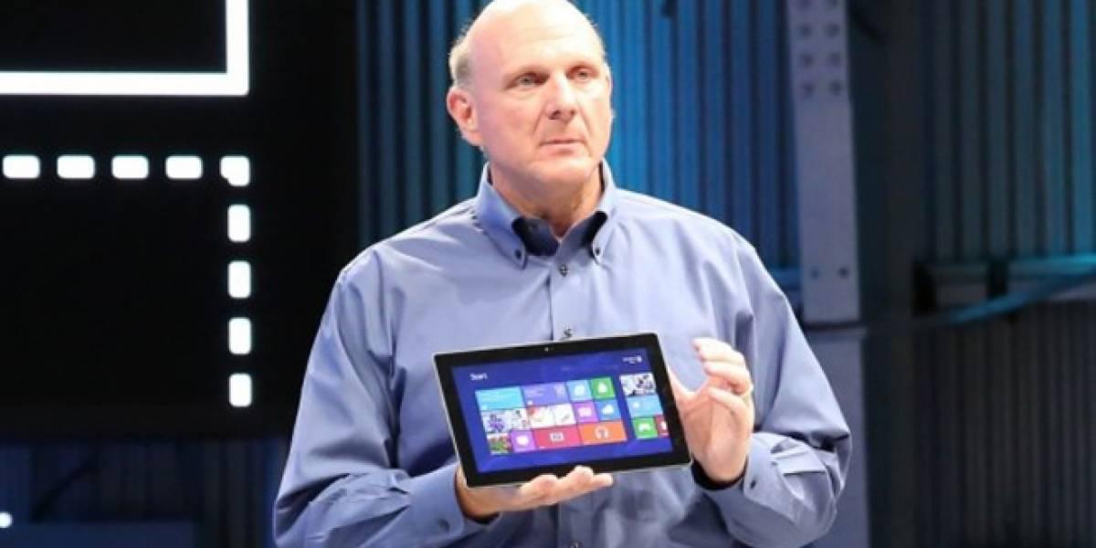 Ya puedes ver la presentación completa del Microsoft Surface en video