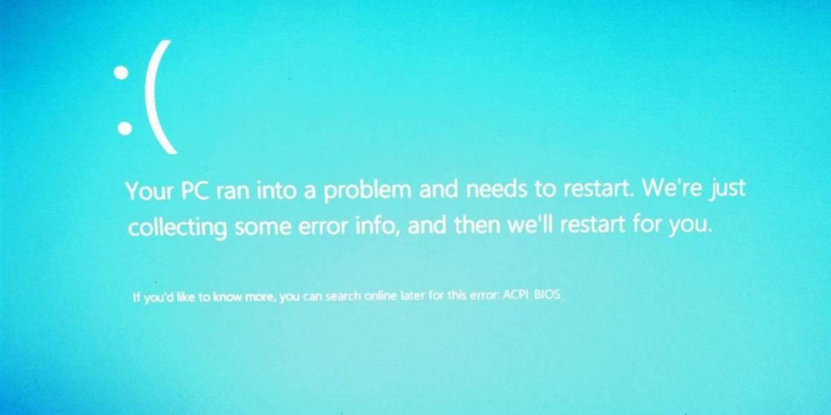 Microsoft retira cuatro parches para Windows 8.1 que provocan importantes fallas