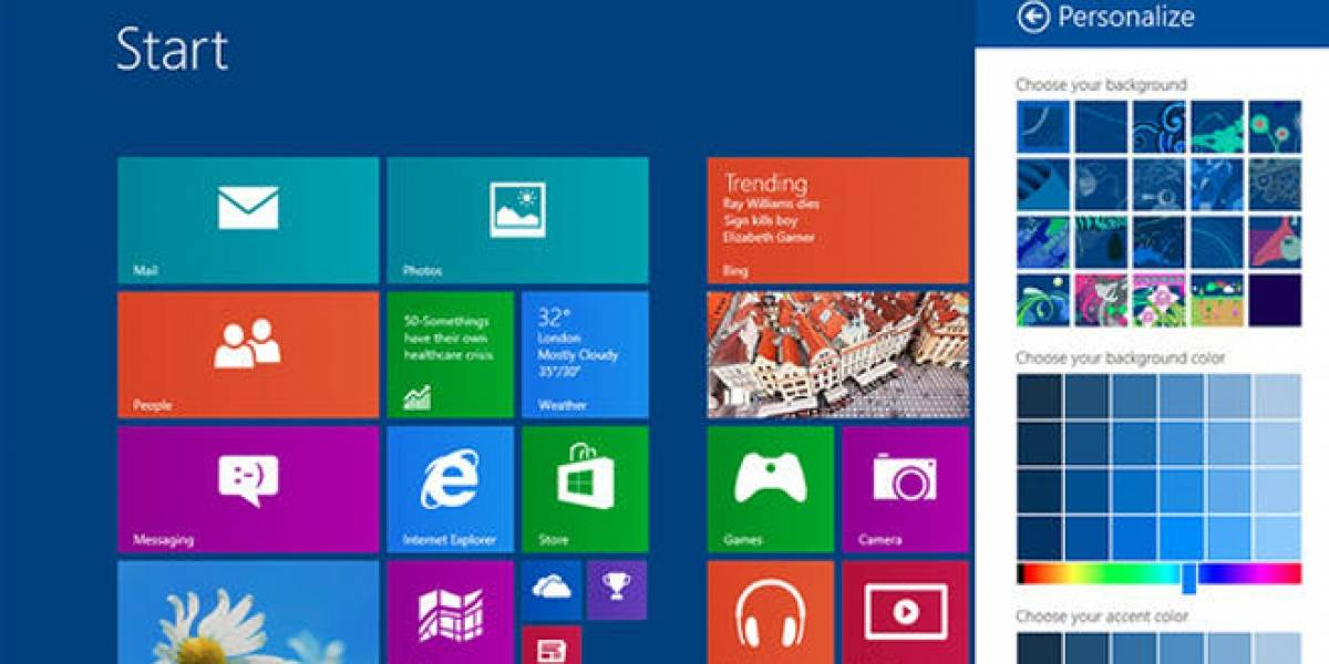 Confirmado: Versión de pruebas de Windows 8.1 estará disponible en junio