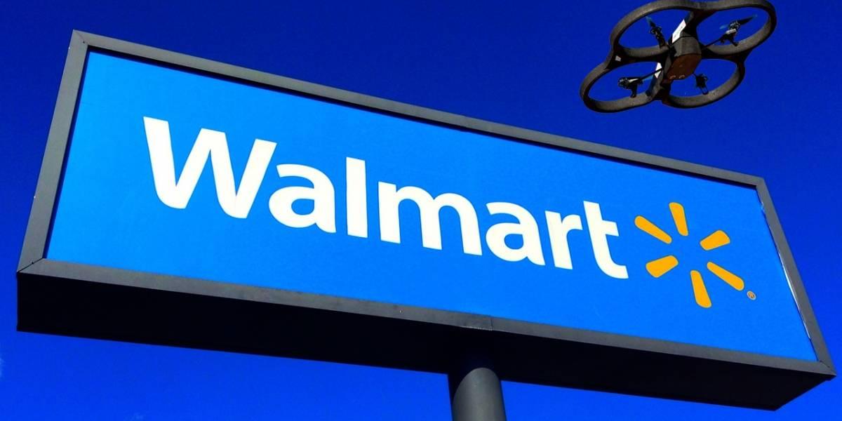 Walmart ahora quiere usar drones para entregar las compras del súper
