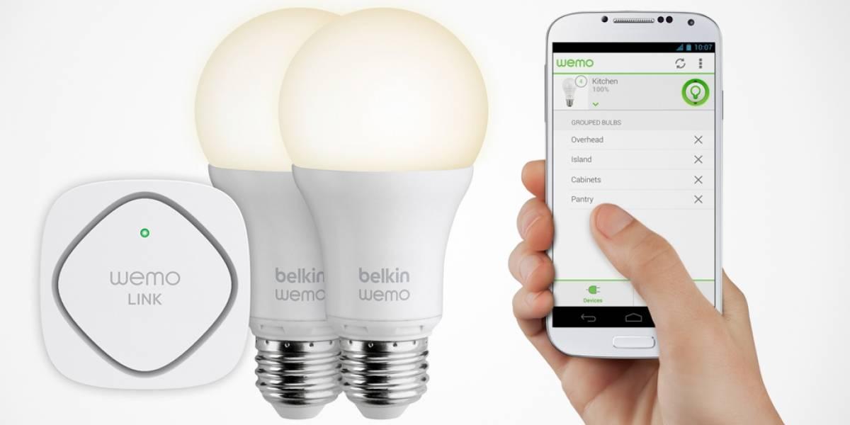 Belkin suma ampolletas inteligentes a su línea WeMo #CES2014
