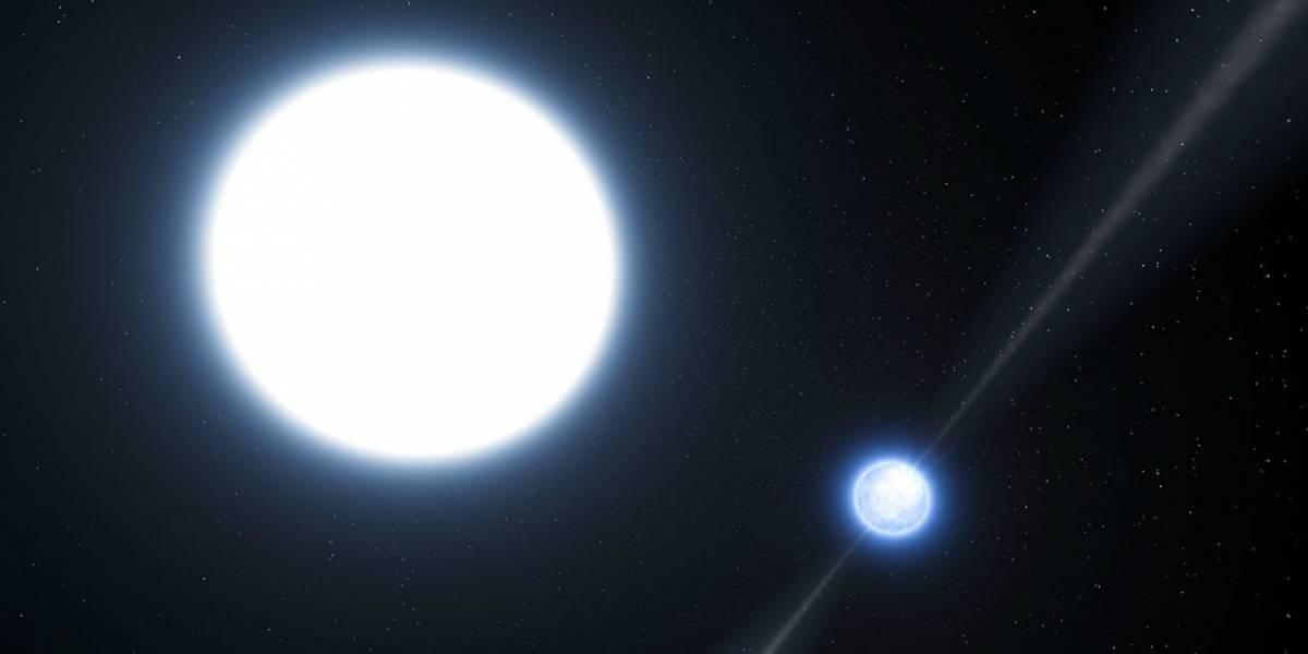 Astrónomos descubren pequeña estrella compuesta por un 99% de oxígeno