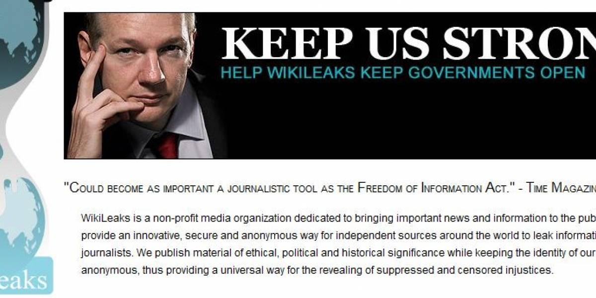 Estados Unidos obtiene órdenes judiciales contra Google y Sonic por caso WikiLeaks