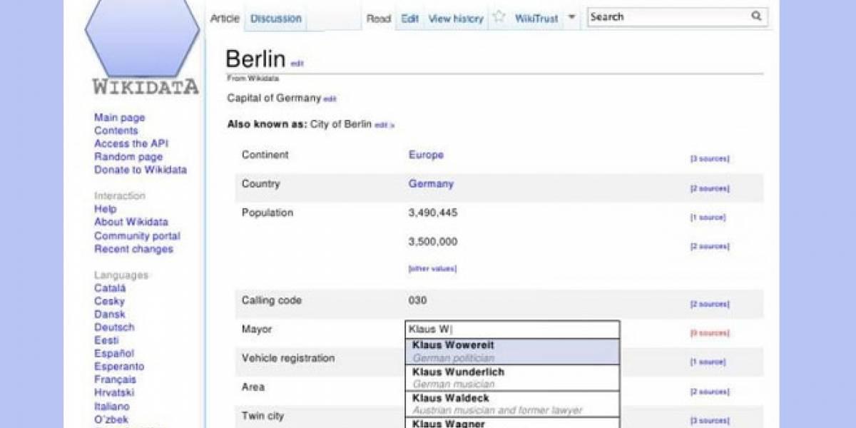 Wikidata: Una base de datos semántica que hará más inteligente a la Wikipedia