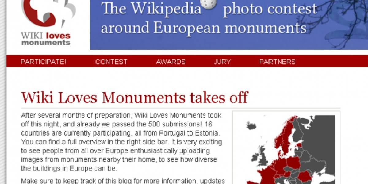 Wiki Loves Monuments: Un Concurso en el que 'donamos' nuestras fotos de Europa