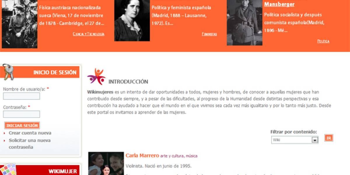 Wikimujeres: El portal de las mujeres que construyen la historia