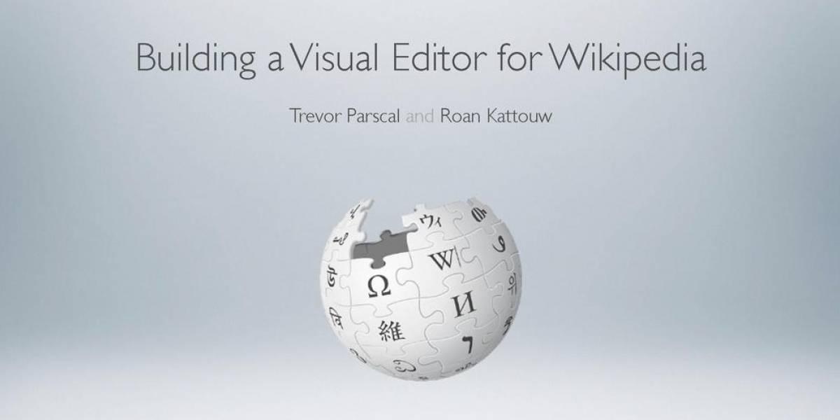 Fundación Wikimedia lanza editor visual para la Wikipedia en inglés
