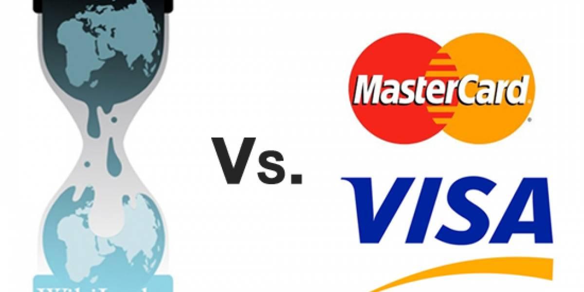 Wikileaks denuncia a Visa y MasterCard ante la Unión Europea
