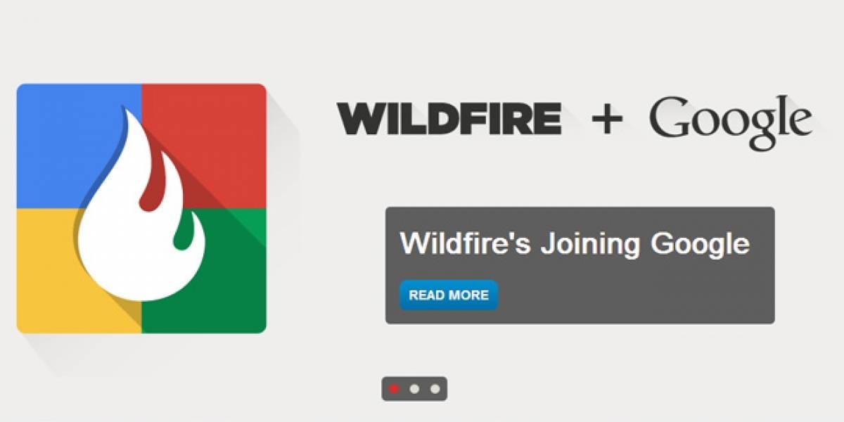 Google compra Wildfire, se prepara para publicidad en redes sociales
