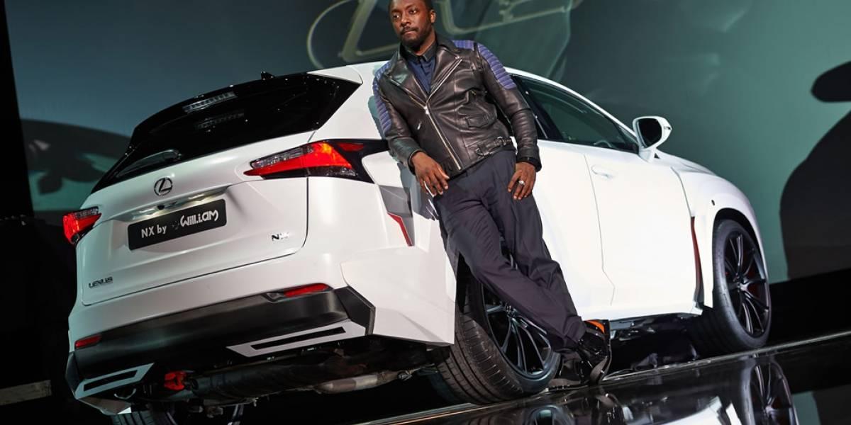 El cantante Will.i.am reveló un diseño propio del Lexus NX