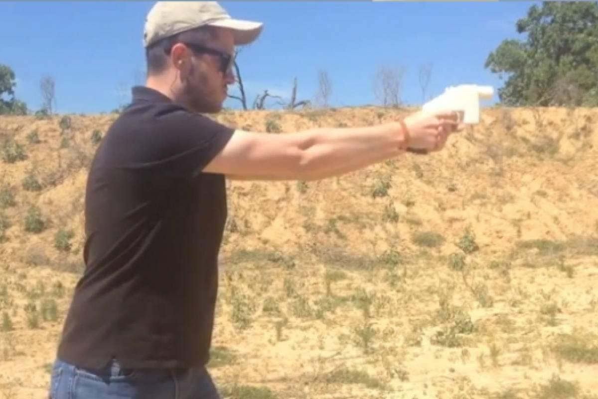 Así funciona la pistola totalmente impresa en 3D