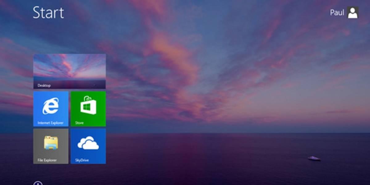 Nuevas filtraciones de Windows 8.1 confirman el botón de inicio y más