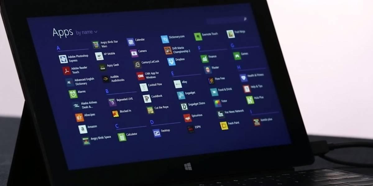 Actualización de Windows 8.1 escondería por defecto el estilo metro
