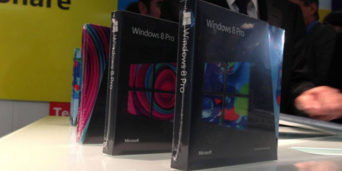 Pese a Windows 8, despachos de PCs fueron menores a lo esperado a finales del 2012
