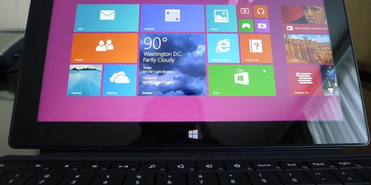 Windows 8 ya está presente en el 10% de los ordenadores