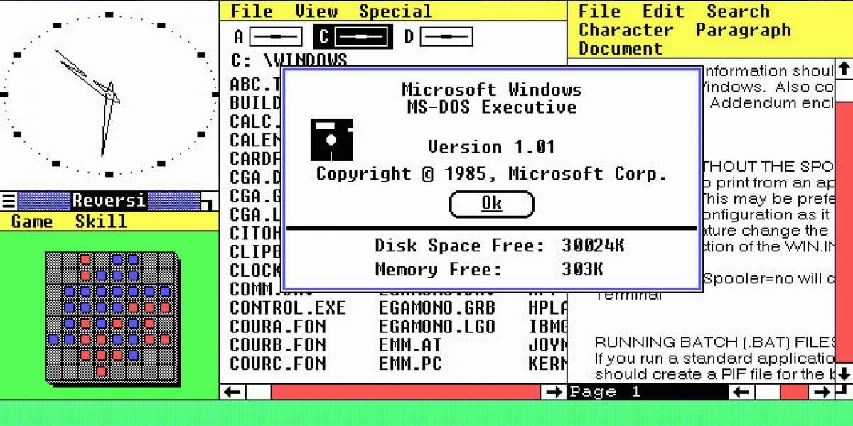 Windows celebra hoy sus 25 años de vida