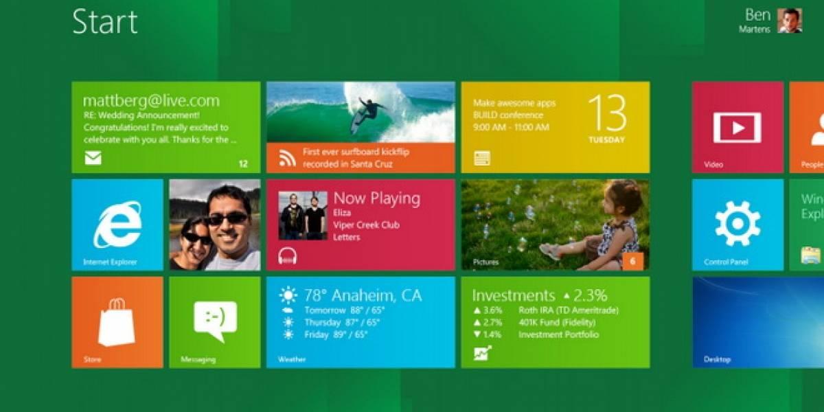 Microsoft explica la desaparición del botón de inicio en Windows 8