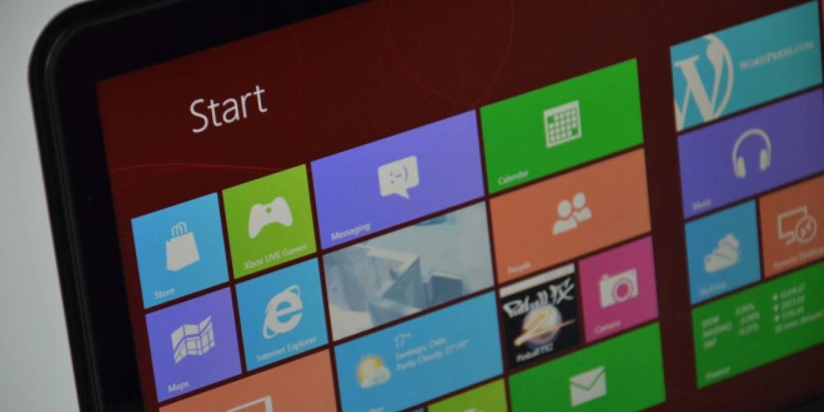 Las ventas de Windows 8 estarían por debajo de las expectativas de Microsoft