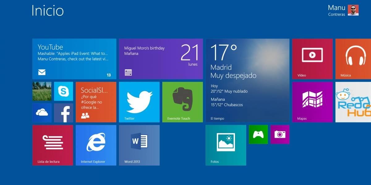 La actualización de Windows 8.1 llegará el 8 de abril