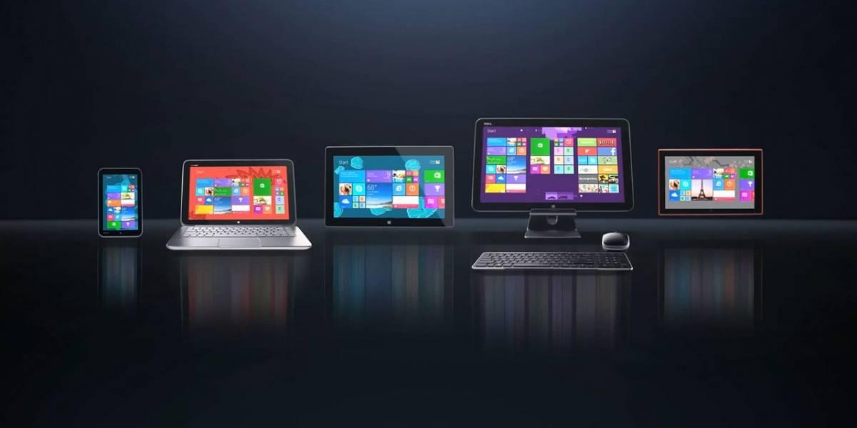 Microsoft tiene el 14% del mercado de dispositivos