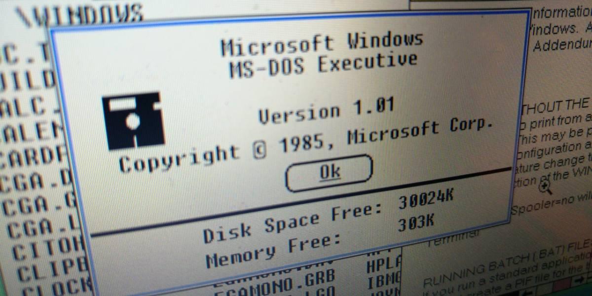 Windows cumple 30 años de evolución