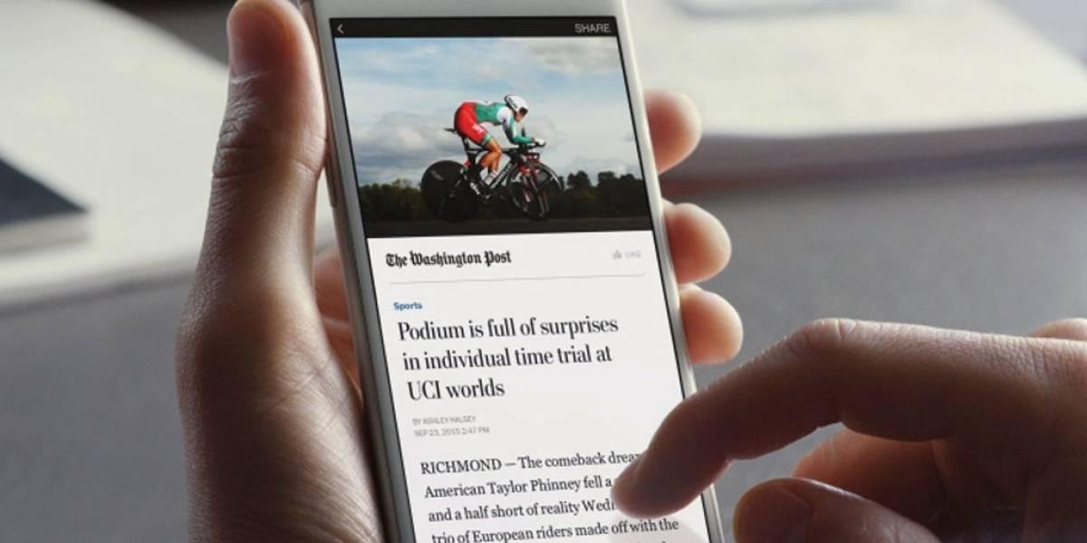 Facebook desarrolla plugin de Wordpress para Instant Articles