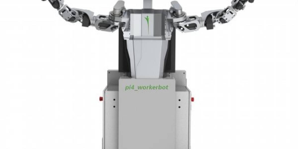Este robot se pone feliz cuando le dan más trabajo