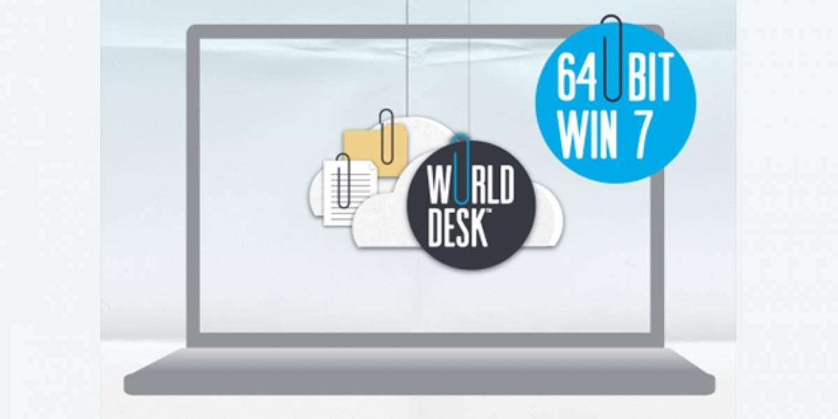 WorldDesk ya soporta Windows 7 en 64-bit