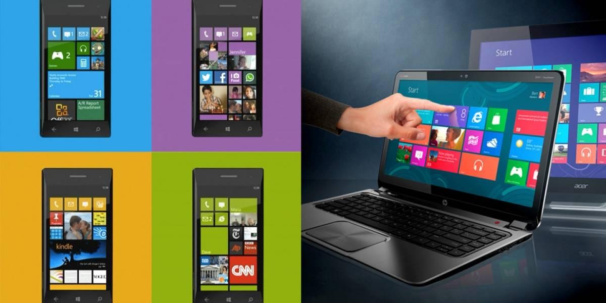 Barajando la teoría de fusionar los sistemas operativos móviles y tradicionales