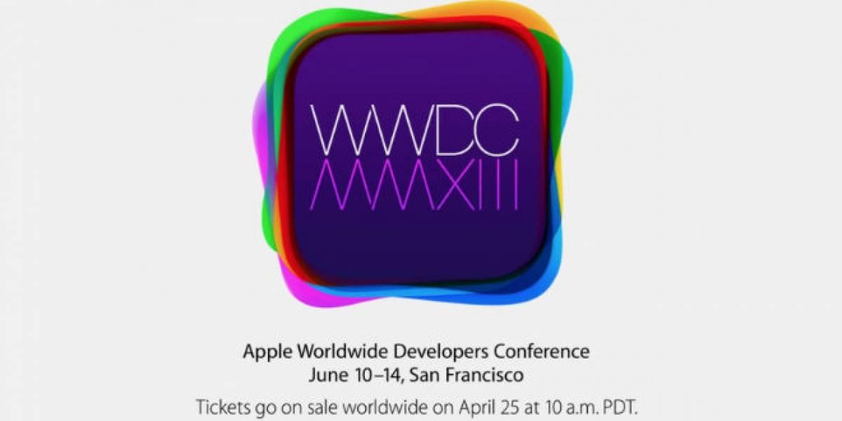 WWDC 2013 de Apple se realizará del 10 al 14 de junio en San Francisco