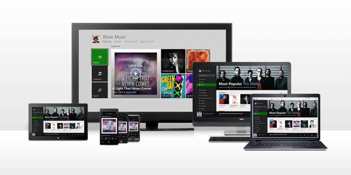 Xbox Music ya puede reproducir tu música de OneDrive