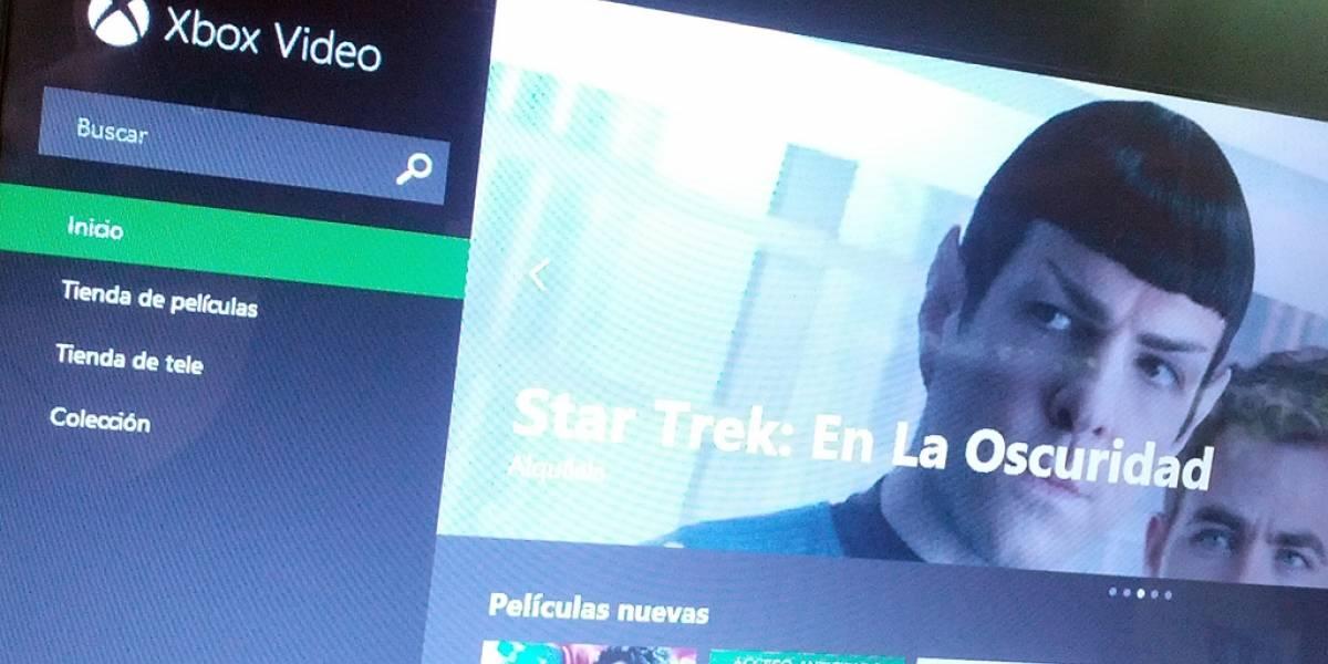 Xbox Video tiene versión web para streaming de películas y series