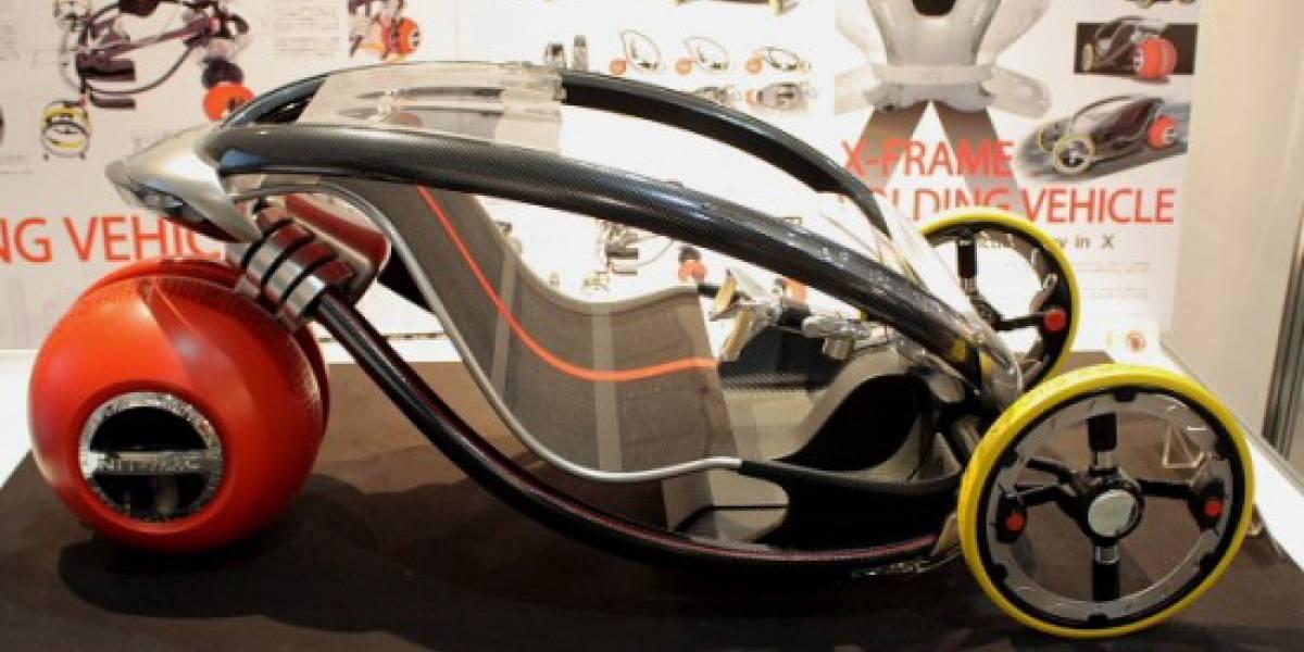 X-Frame: el auto que se ajusta a la cantidad de pasajeros