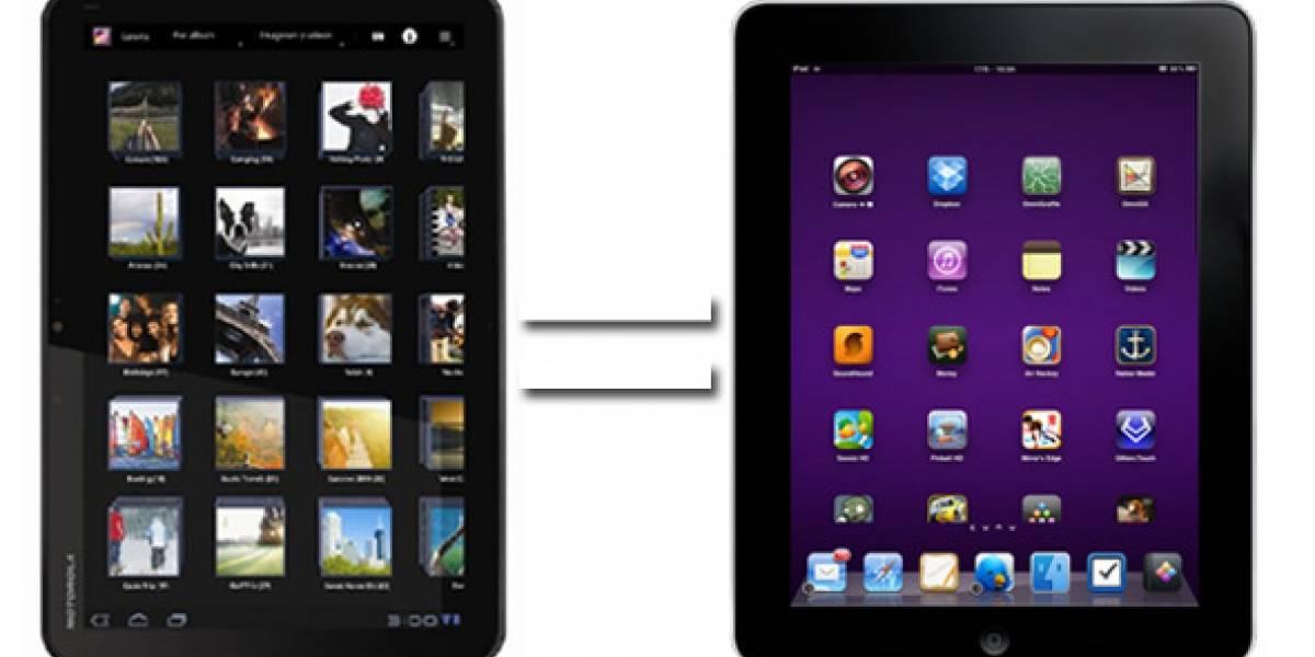 Apple también demanda a Motorola por el diseño del Xoom