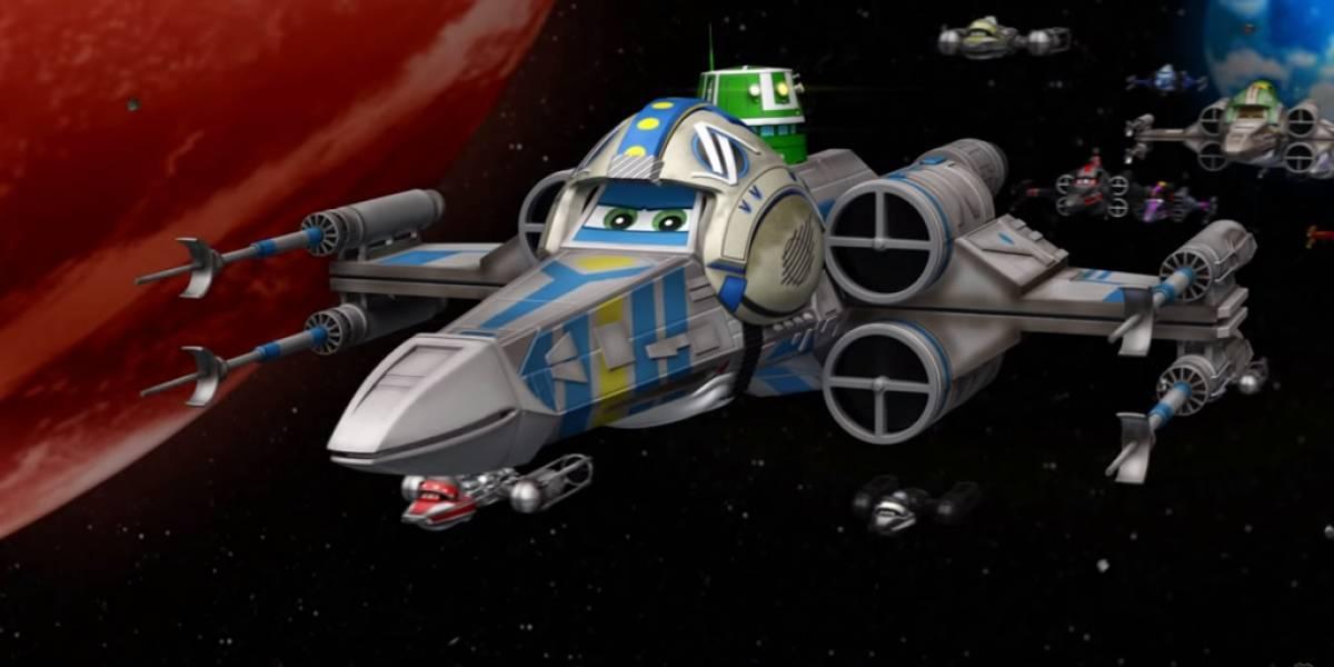 Esto pasaría si Pixar lanzara un filme de Star Wars