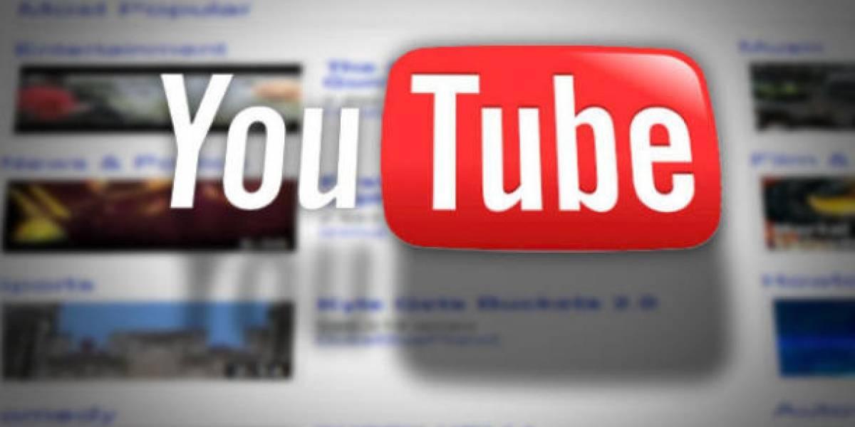 YouTube está preparando un cambio de diseño para su sitio web