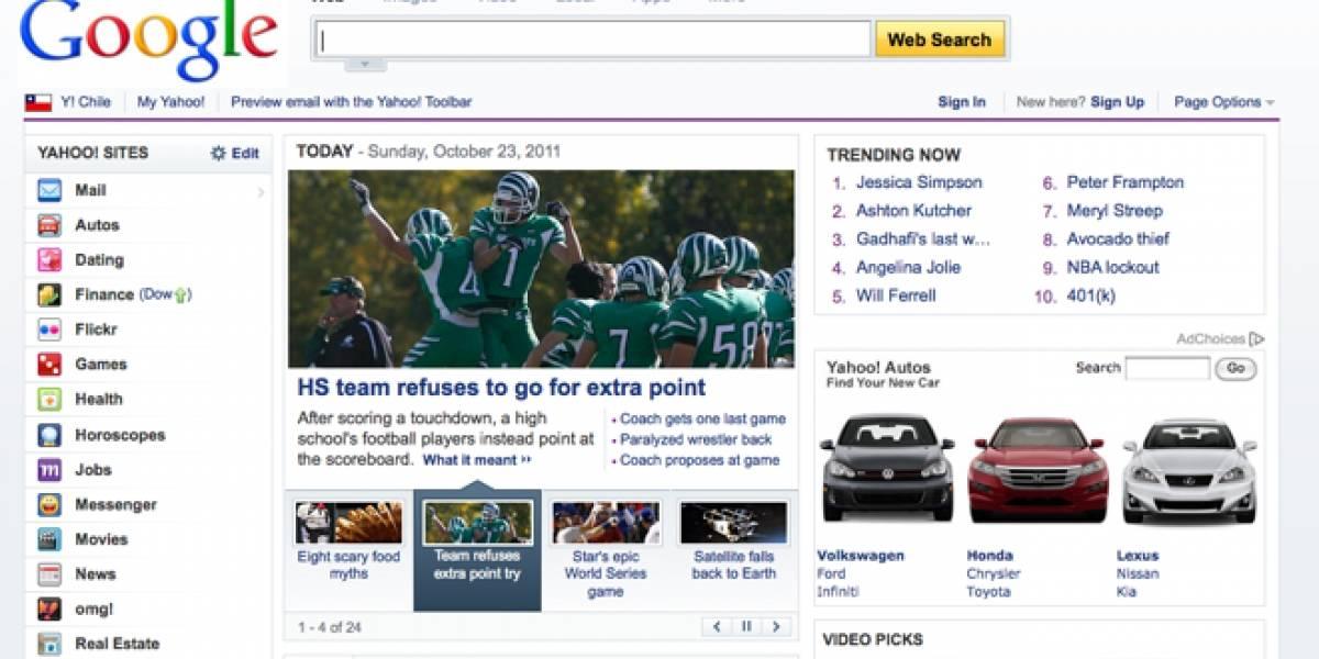 Google estaría pensando en comprar Yahoo