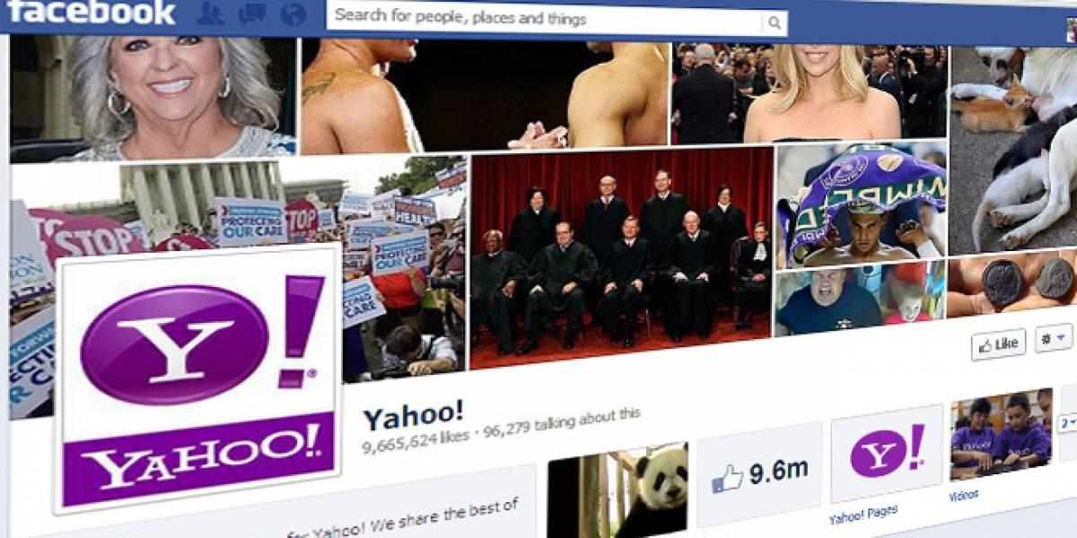Yahoo y Facebook cierran un acuerdo y ya no se demandarán por patentes