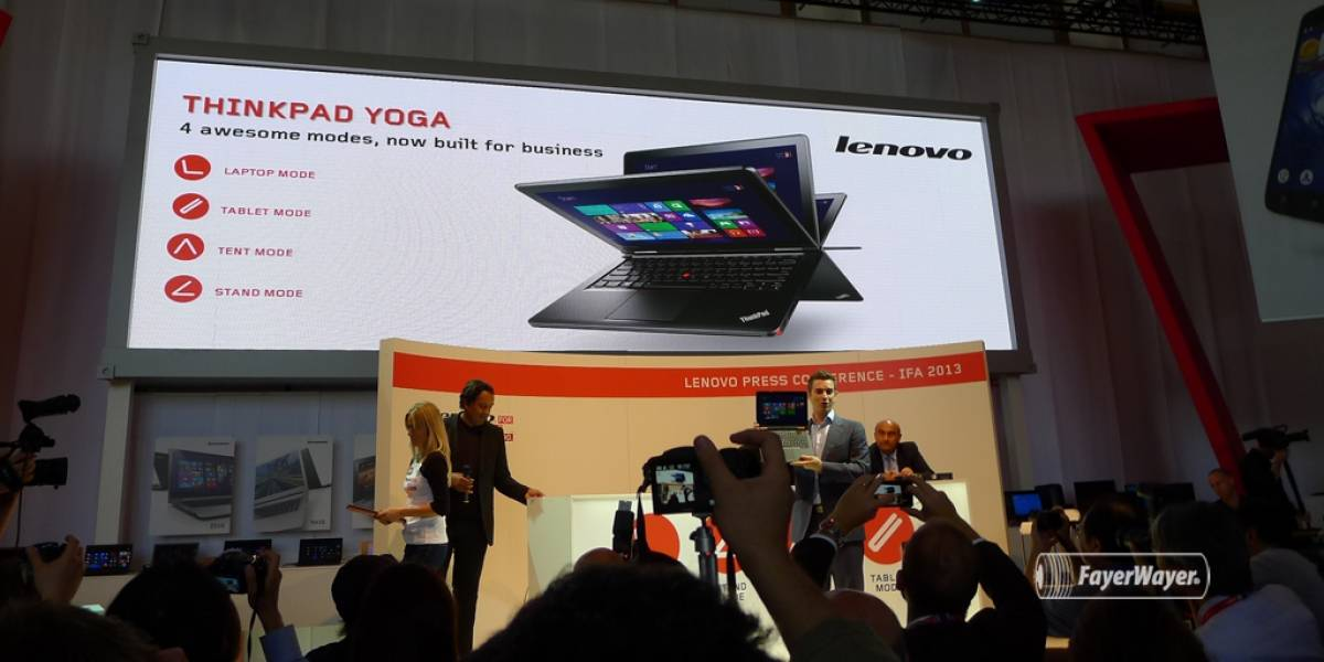 Lenovo lanza un ThinkPad Yoga y dos laptops Flex de gama media