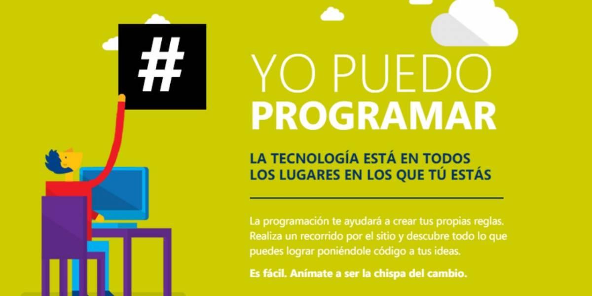 Campaña busca incorporar ramos de programación en la etapa escolar