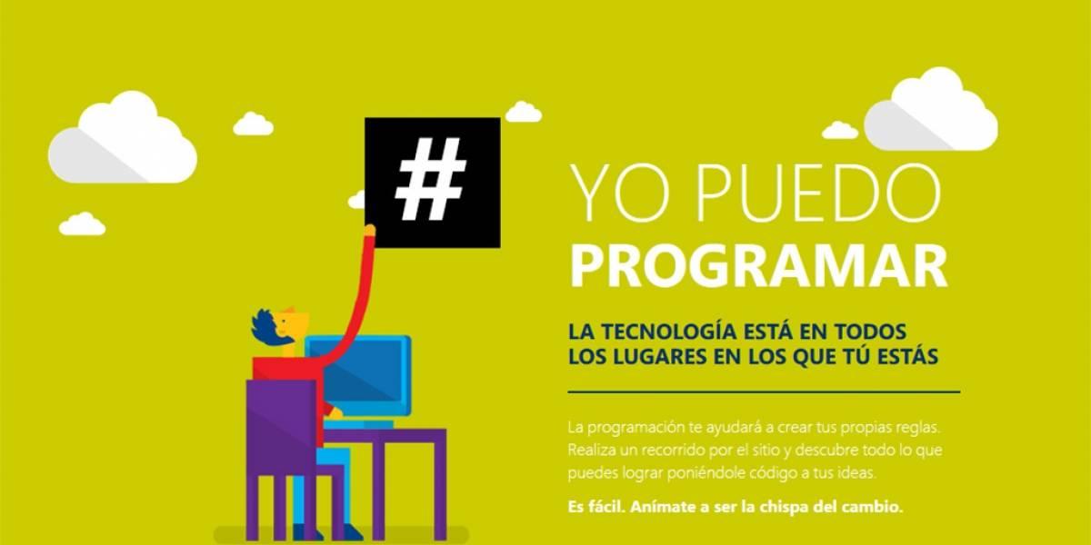 Microsoft lanza iniciativa para que jóvenes aprendan a programar