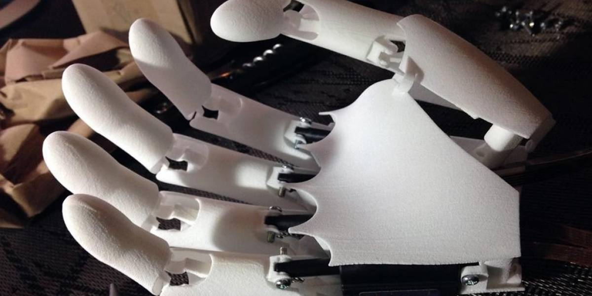 YouBionic, la mano prostética impresa en 3D