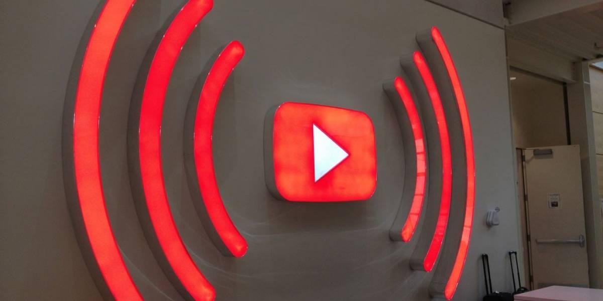 YouTube prepararía soporte para transmitir en vivo videos de 360°