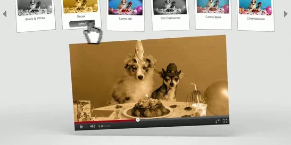 YouTube estrena herramienta de post-producción