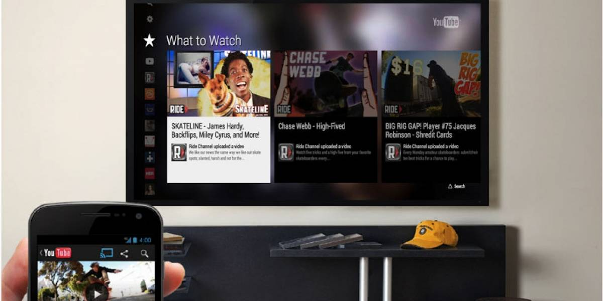 Google actualiza la aplicación de YouTube para PlayStation 3
